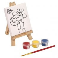 SET À DESSIN BRUSH & EASEL PERSONNALISABLE