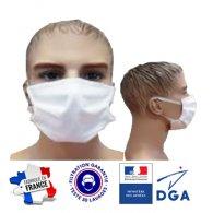 Masque en tissu réutilisable 30 fois - Le cadeau CE
