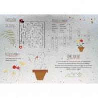 Linoa - Set de table Graines personnalisable - LE cadeau CE