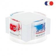 Villana - Porte-bloc papier plexiglas personnalisable