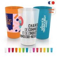Odoric - GOBELET PLASTIQUE REUTILISABLE 30 cl publicitaire - LE cadeau CE