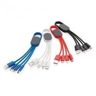 Najat - Câble 4 en 1 avec mousqueton personnalisable - LE cadeau CE