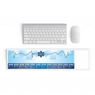 CROIX BLEUE  - Sous-main clavier 2021 publicitaire - LE cadeau CE