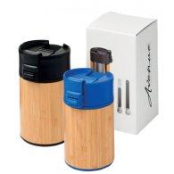 Roberto - 200 ml -  Mug isotherme en bambou publicitaire - LE cadeau CE