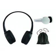 Morgan - Casque compatible Bluetooth® Noir publicitaire - LE cadeau CE
