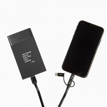 Clever- 500 mAh - Batterie externe logo lumineux personnalisable - LE cadeau CE