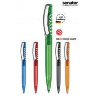 SENATOR  - New Spring Clear clip métal publicitaire - LE cadeau CE