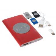 WIRELESS POWER - 4000 mah- Batterie externe induction personnalisable - LE cadeau CE