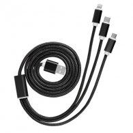 Amarine - Câble USB 3 en 1 personnalisable - LE cadeau CE