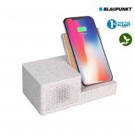 BLAUPUNKT - 3W - Enceinte et chargeur induction personnalisable - LE cadeau CE