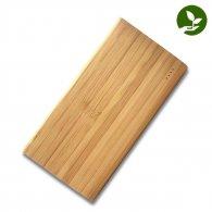 Maya - 10000 mAh - Batterie externe en bois publicitaire - LE cadeau CE
