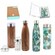 YOKO DESIGN - COFFRET BOUTEILLE & THEIERE personnalisable - LE cadeau CE
