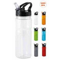 Méric - 500 ml - Bouteille plastique personnalisable - LE cadeau CE
