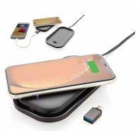 Lorenzo - 2 en 1 Chargeur sans fil et batterie externe personnalisable - LE cadeau CE