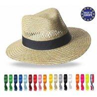 Panama - Chapeau en paille épaisse personnalisable - LE cadeau CE