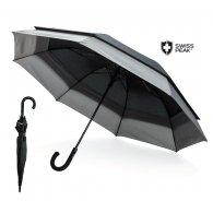 """Swiss Peak - Parapluie extensible 23"""" à 27"""" personnalisable - LE cadeau CE"""
