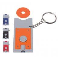 Shopping - Porte-clés jeton et LED personnalisable - LE cadeau CE